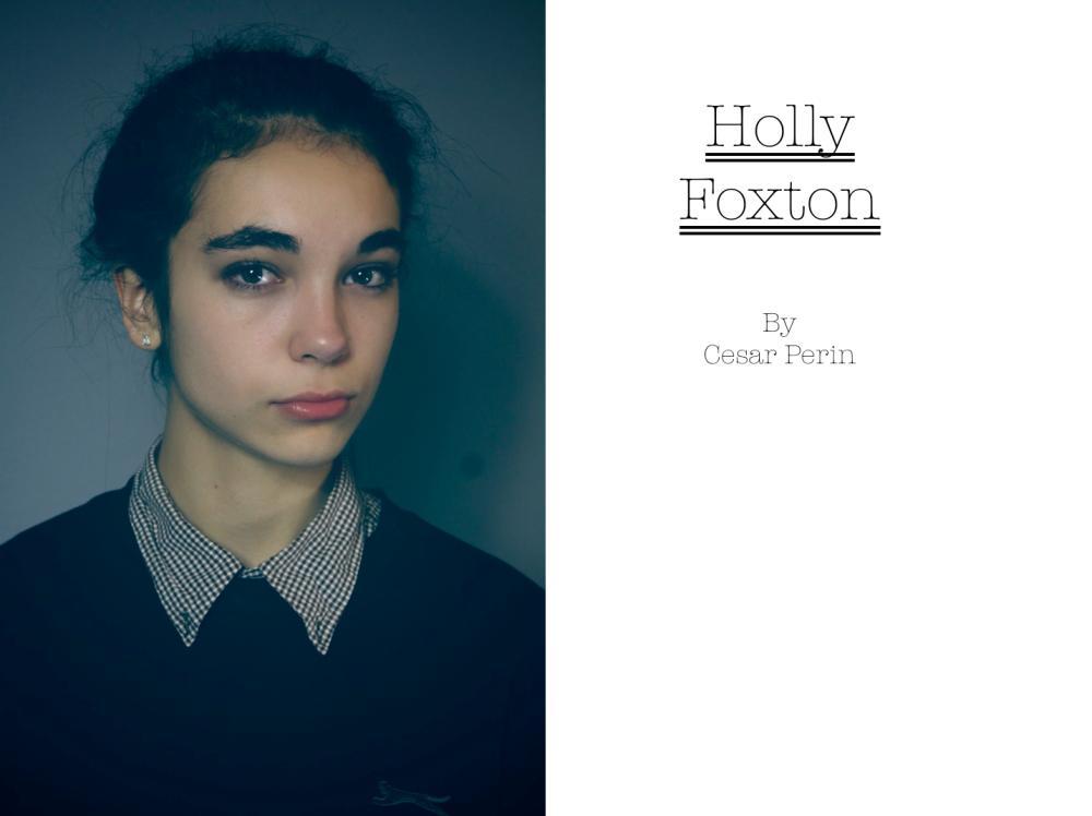 HOLLY FOXTON BY CESAR PERIN 10122012